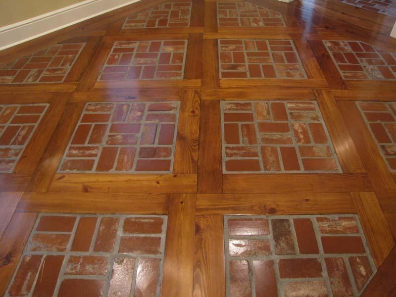 Retro vinyl flooring vinyl flooring available at for Cost of brick flooring