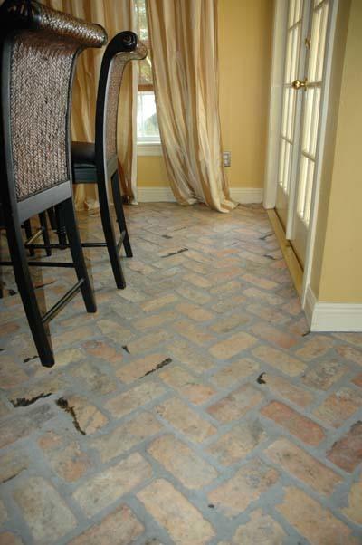 Old Chicago Brick Flooring : Old chicago acadian brick stone lafayette la